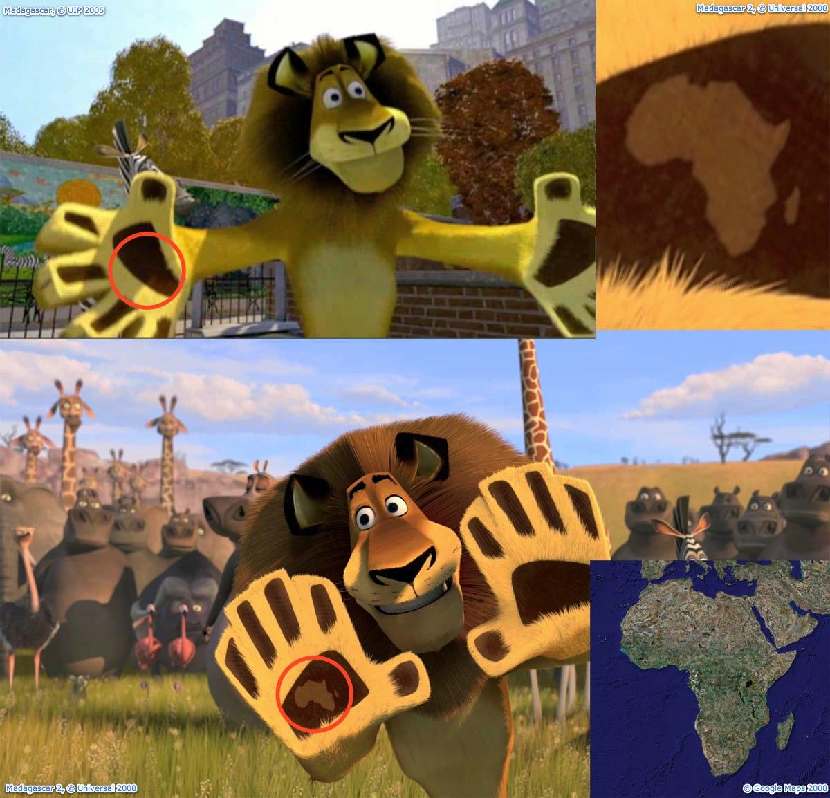 Madagaskar nackt