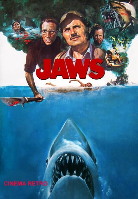 seltenes Poster zu Jaws