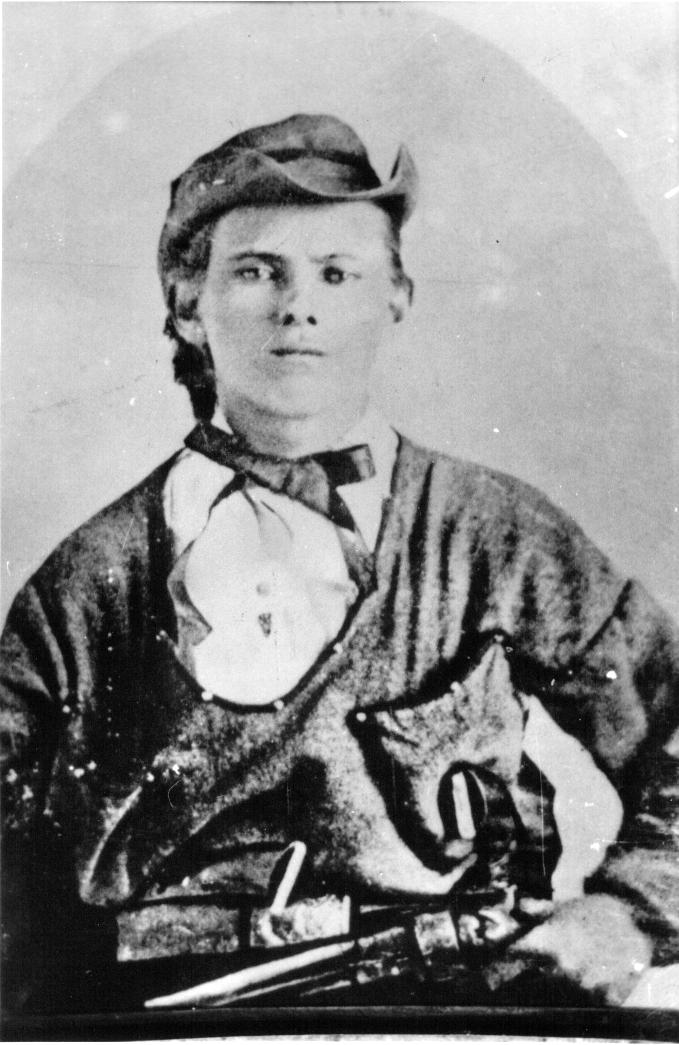 Jesse James Age 17