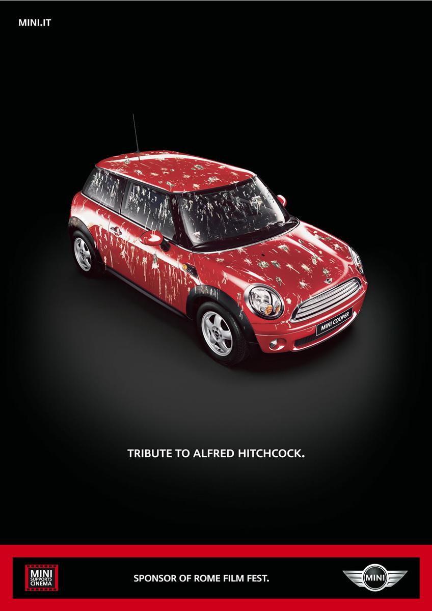 Mini-Werbung Alfred Hitchcock