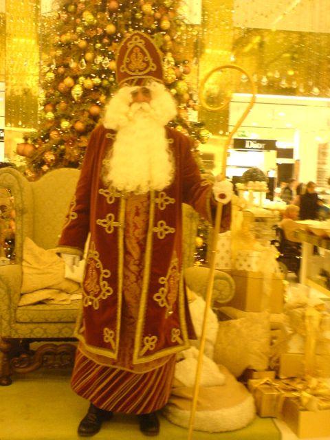 Nikolaus bzw Weihnachtsmann