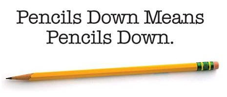 Pencils Down - WGA